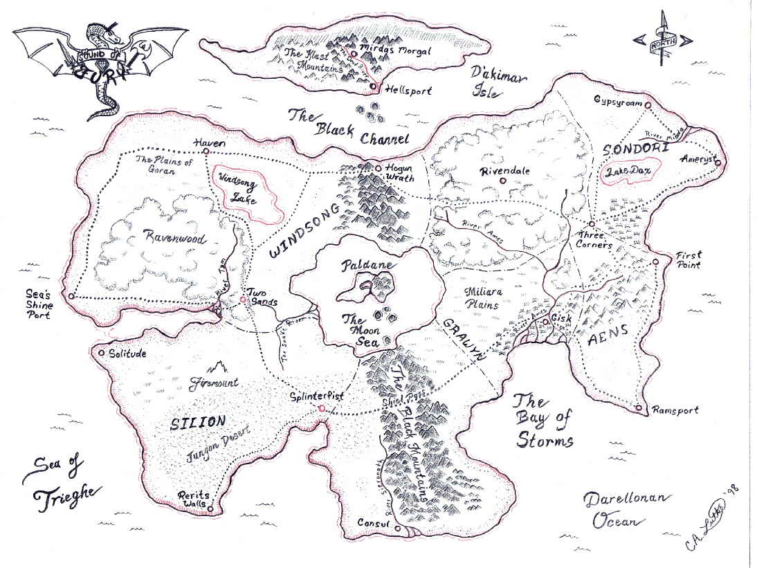 The Continent of Mer